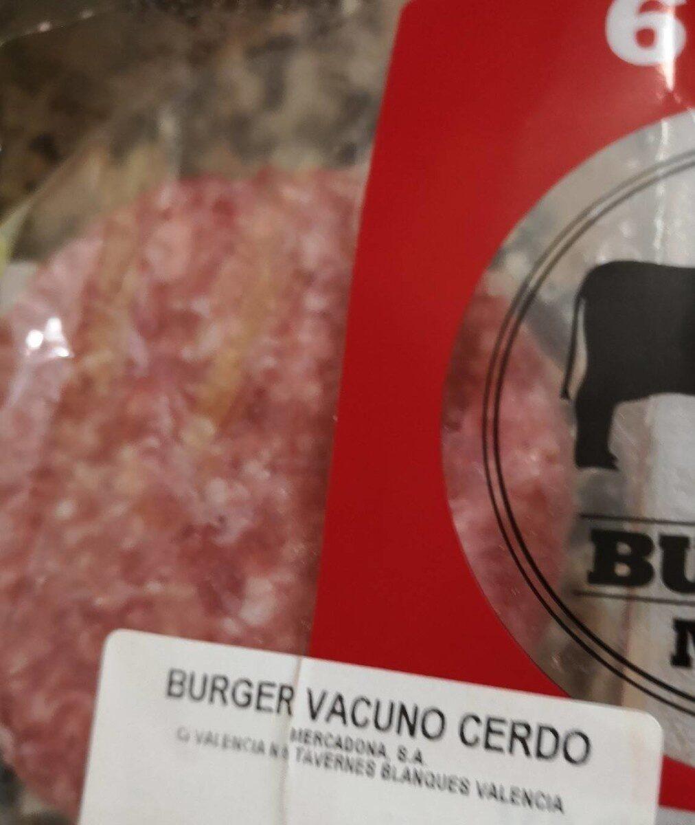 Burger vacuno de cerdo - Product