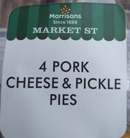 Pork Cheese & Pickle Pie - Product