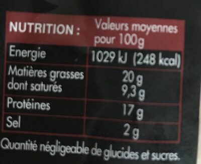 Véritable andouillette de troyes - Ingrediënten - fr