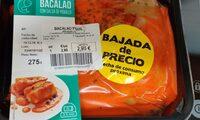 Bacalao con salsa de piquillo - Product