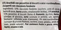 Knusper Marshmallows - Zartbitter-Keks - Ingredients