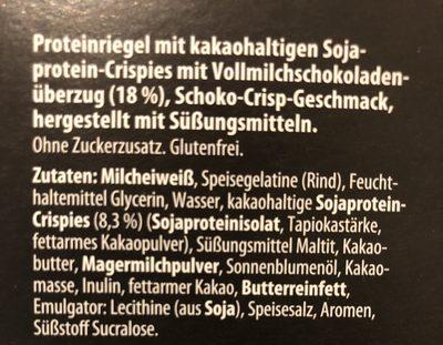Protein Bar - Ingrediënten - de