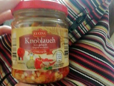 Knoblauch fein gehackt Chili & Öl - Produit - de