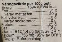 Eko Mellanlagrad - Nutrition facts