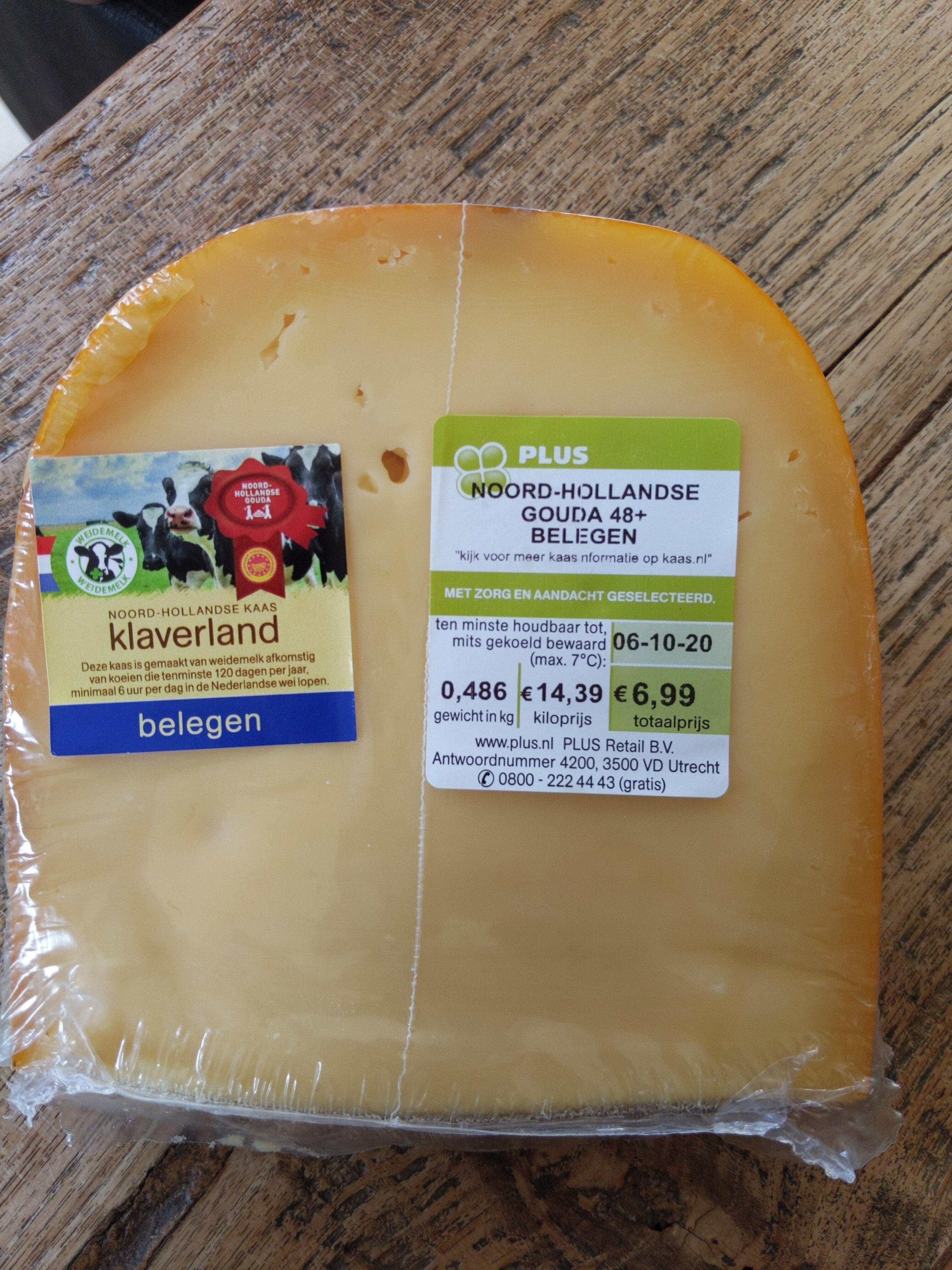 noord-hollandse Gouda 48+ belegen - Product - nl