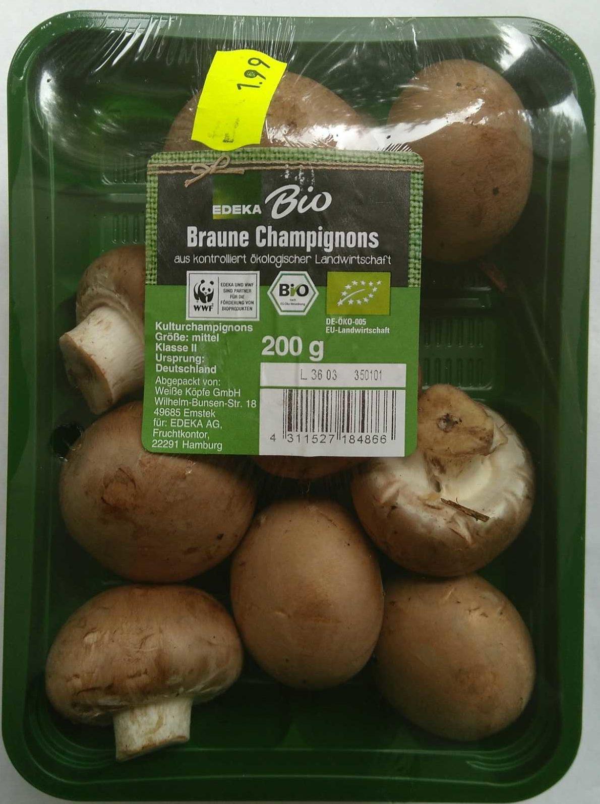 Braune Champignons - Produit - de