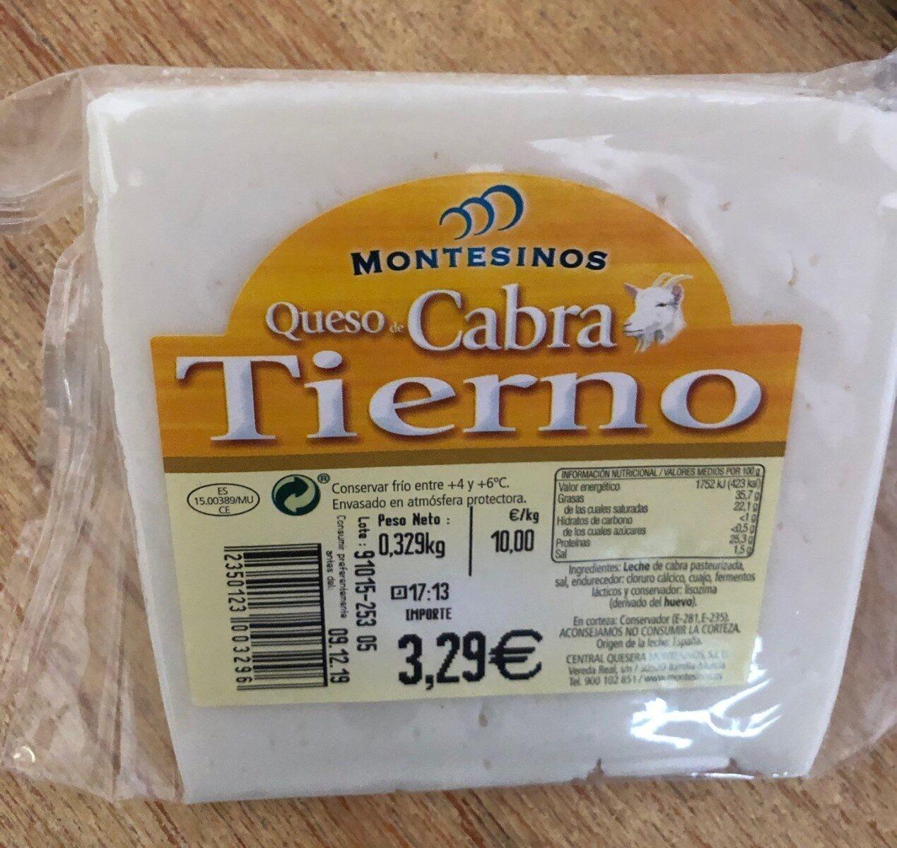 Queso de cabra tierno - Product