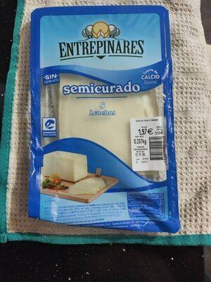 Queso en lonchas semicurado - Product