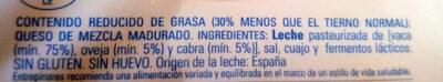 Light lonchas - Ingrédients - es