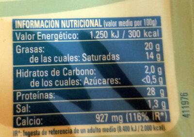 Light lonchas - Informations nutritionnelles - es