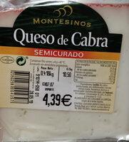 Queso de Cabra Semicurado - Producto - es