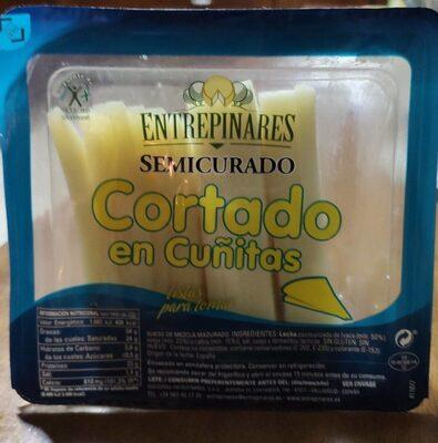 Queso SemiCurado en cuñitas - Producte - es