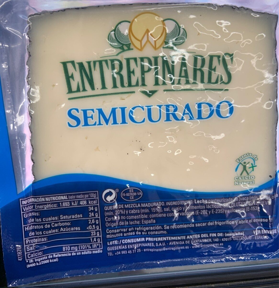 Queso semicurado - Product