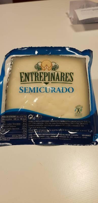 Queso semicurado - Produit - es