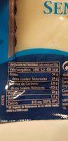 Queso semicurado - Informations nutritionnelles - es