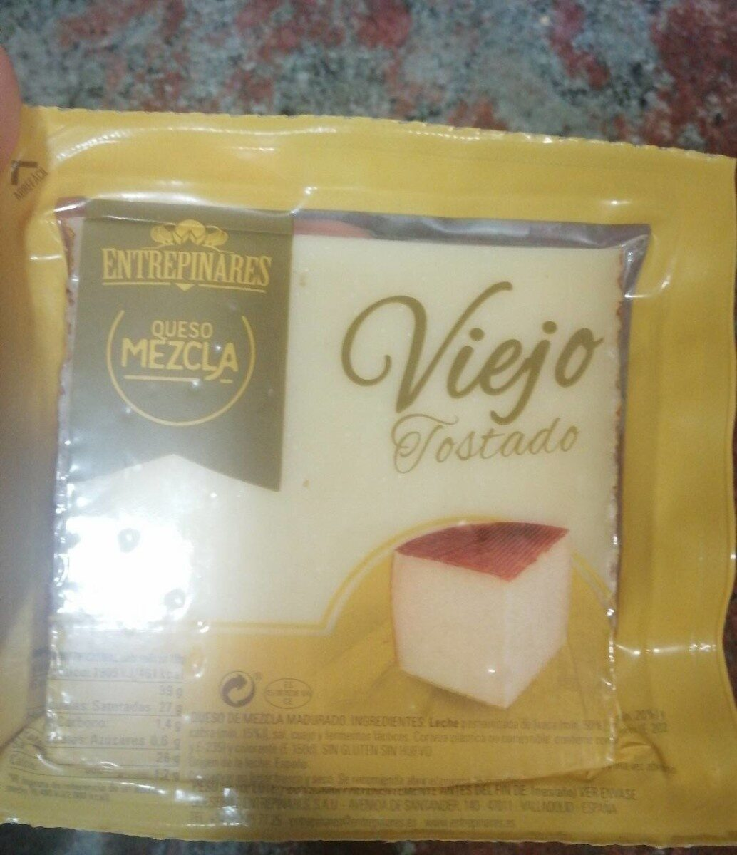 Queso viejo tostado del mercadona - Producto