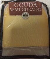 Queso gouda semicurado 48%MG/ES Cuña - Product
