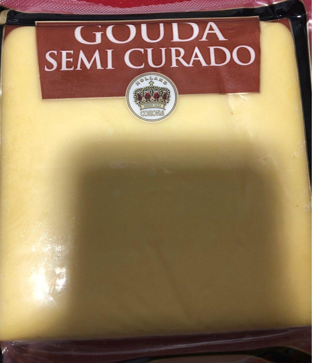 Queso semicurado gouda - Produto - es