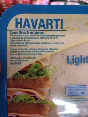 Havarti light - Produit - es