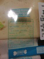 Queso Havarti en lonchas light - Informació nutricional - es