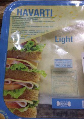Queso havarti light - Produit