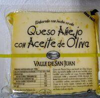 Queso añejo con aceite de oliva - Produit - fr