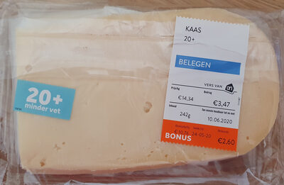 Kaas 20+ belegen - Product - nl