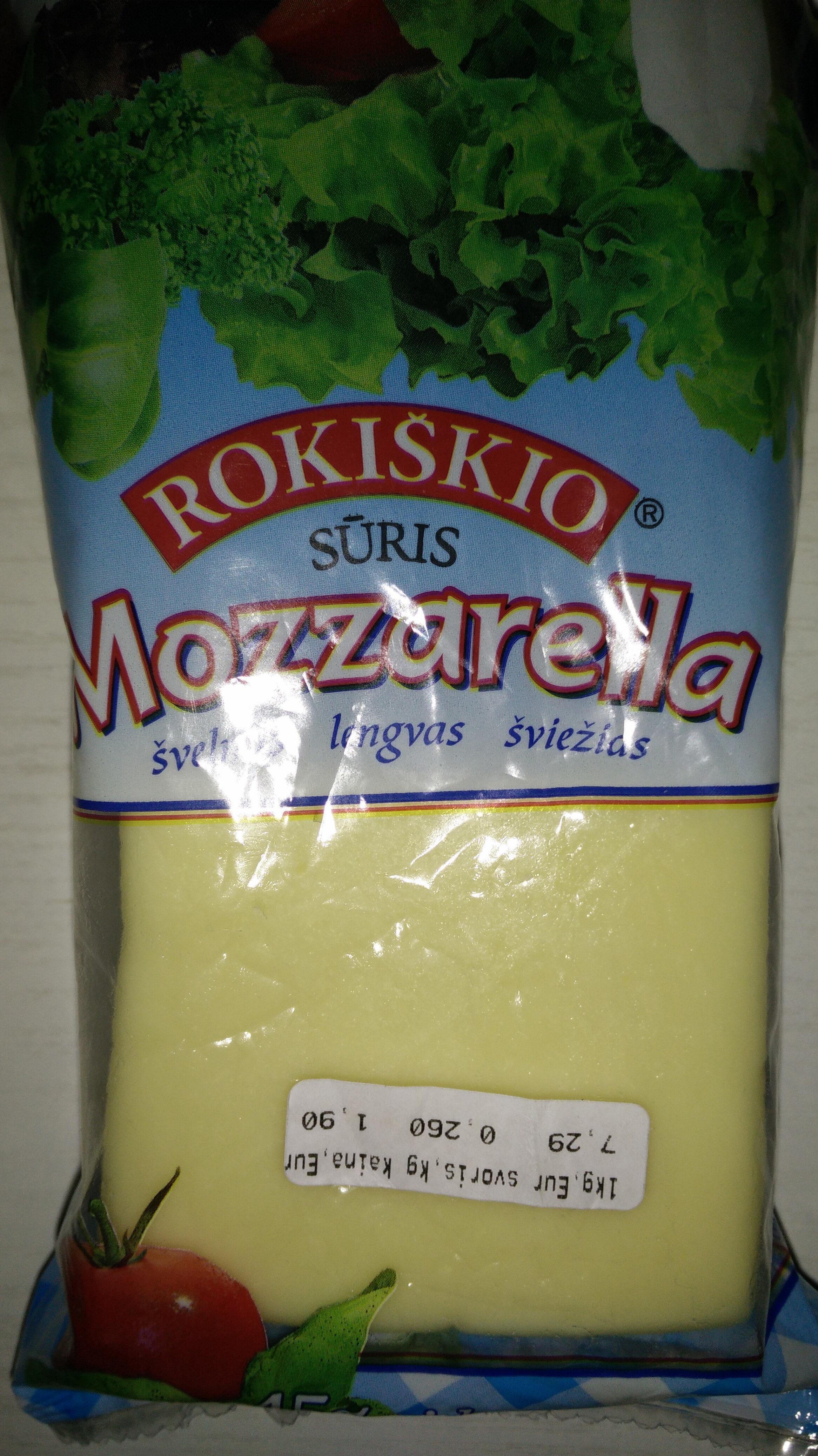 Mozzarella sūris 45% rieb. - Produktas - lt