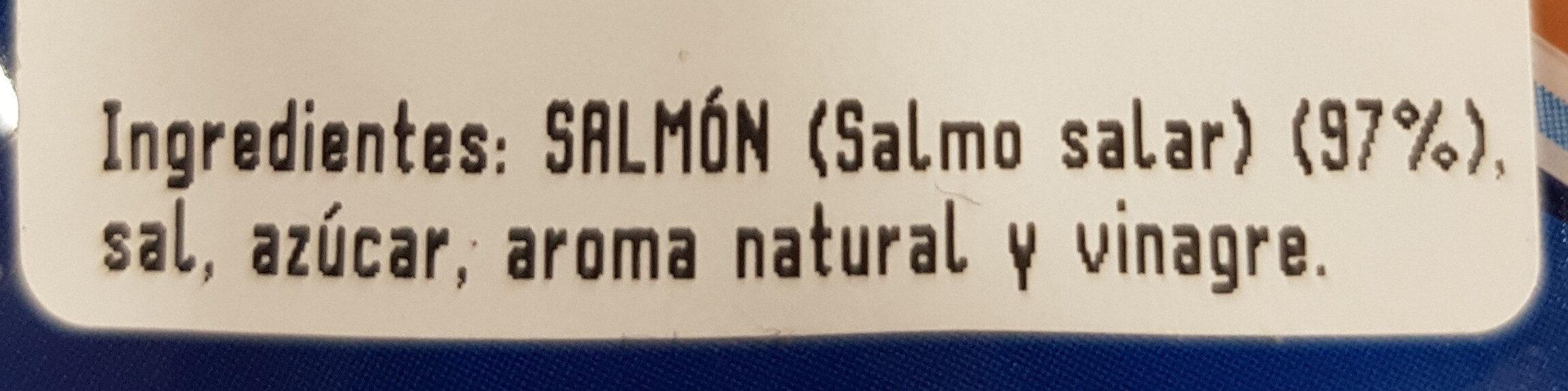 Salmón ahumado - Ingredients - es