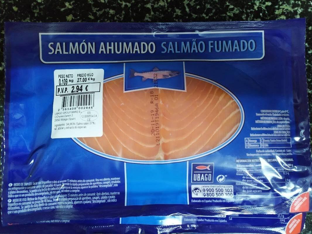 Salmón ahumado - Product - es