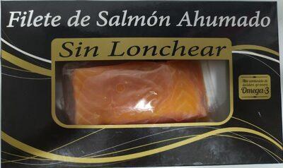 Filete de salmón ahumado sin lonchear
