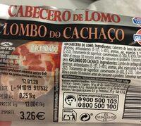 Cabecero de lomo - Product