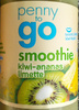 smoothie kiwi-ananas limette - Product