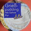 Grießpudding mit Sahne Pur - Produkt