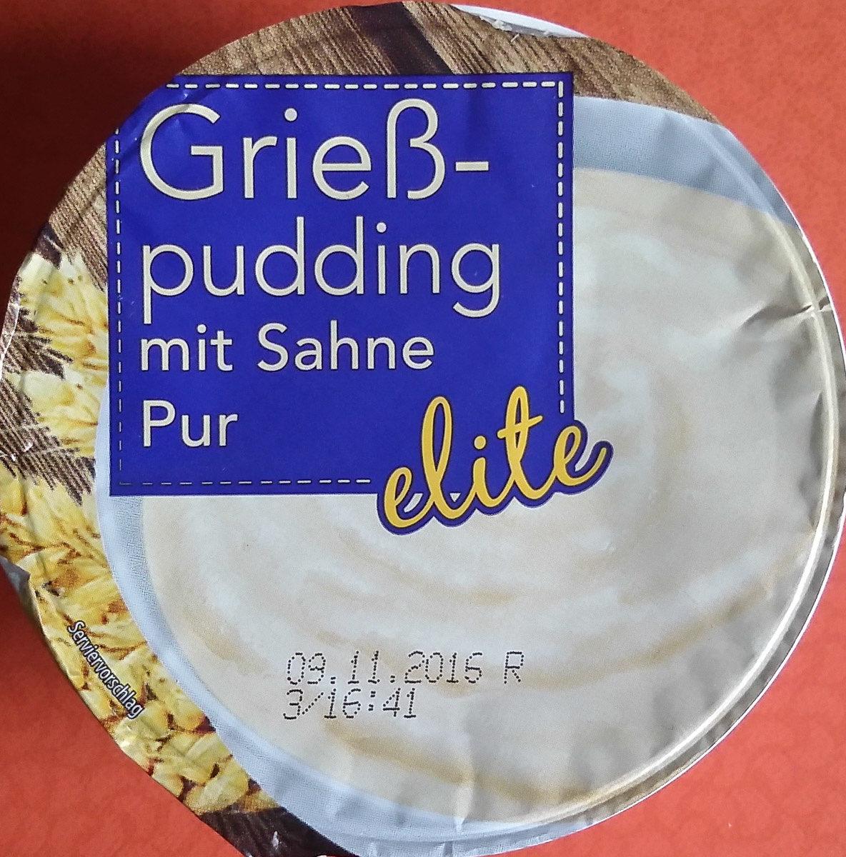 Grießpudding mit Sahne Pur - Produkt - de