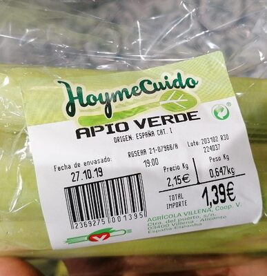 Apio verde - Produit - es
