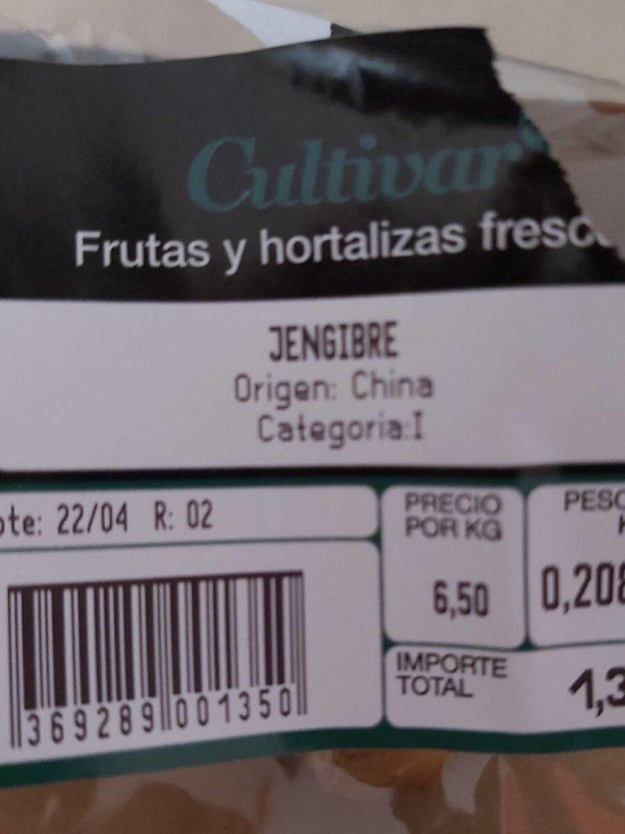 Jengibre - Prodotto - es