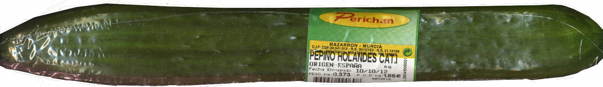 Pepino de tipo holandés - Producte - es