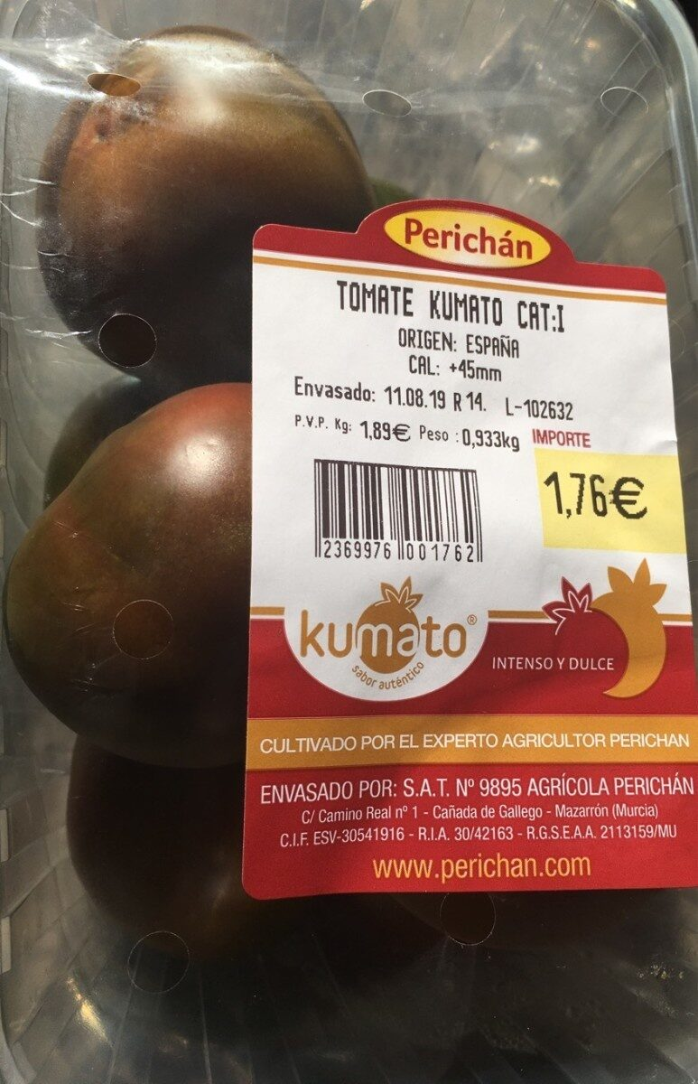 Tomate Kumato Cat. I - Product - es