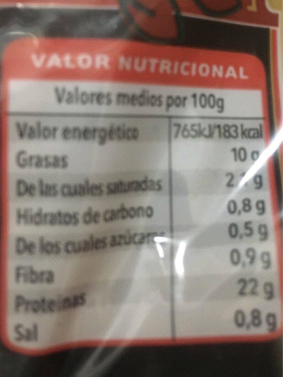 informacion nutricional pollo asado