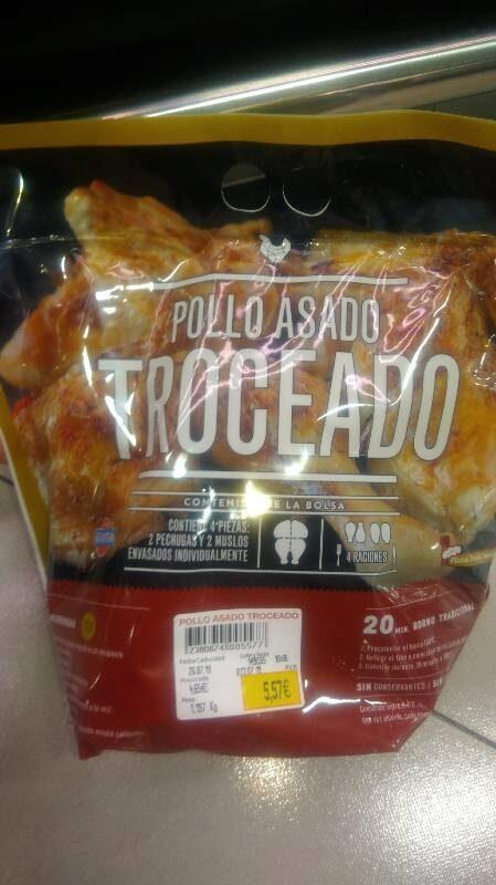 Pollo asado troceado - Produit