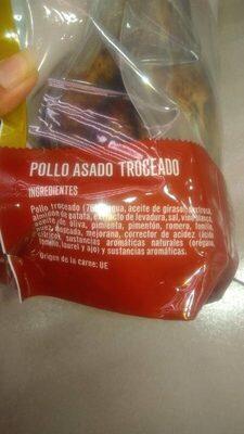 Pollo asado troceado - Ingrédients