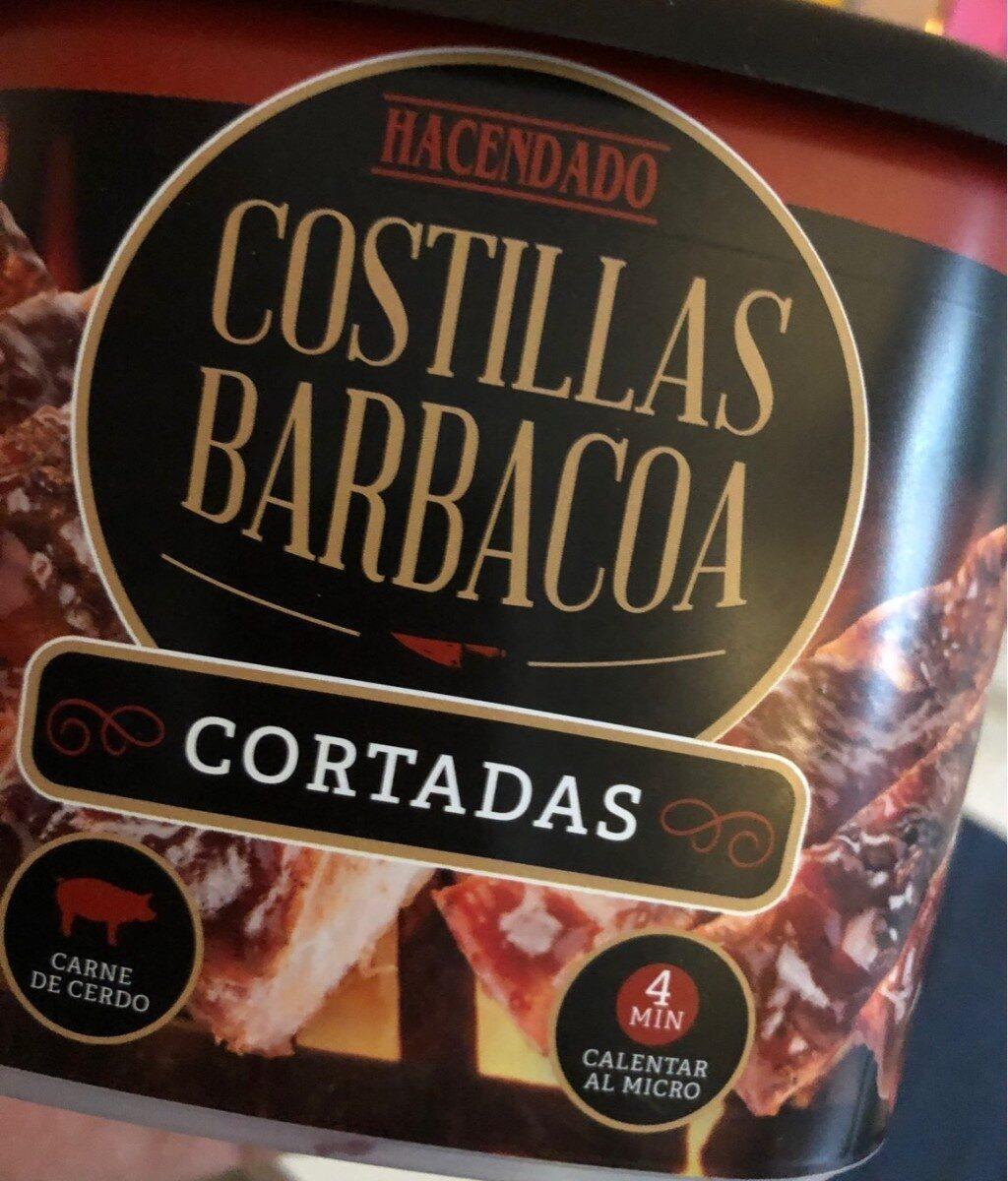 Costillas barbacoa cortadas - Product - es