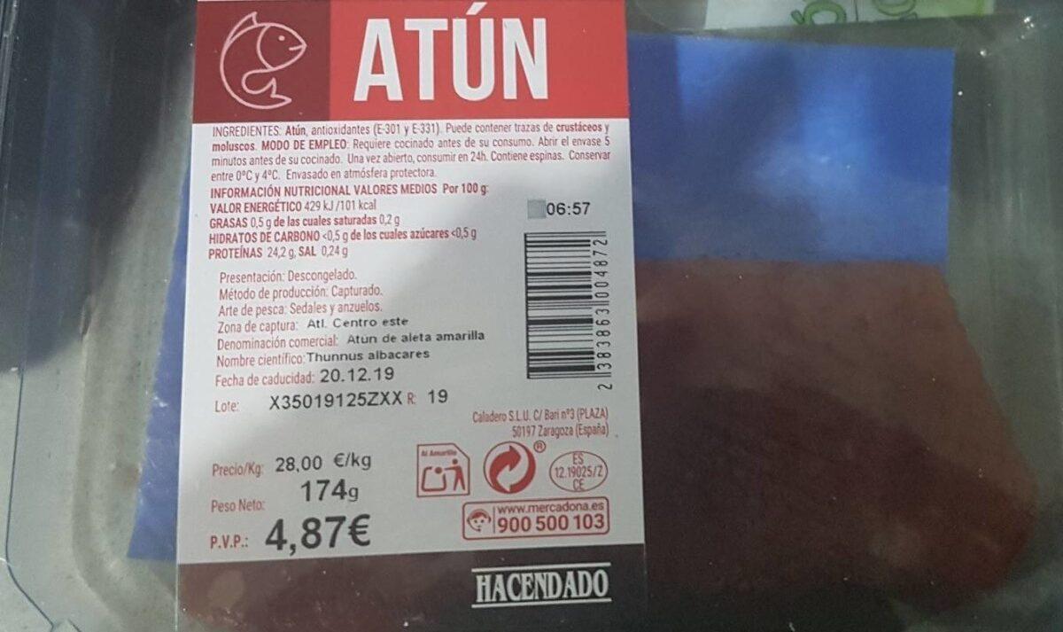 Atún fresco - Product