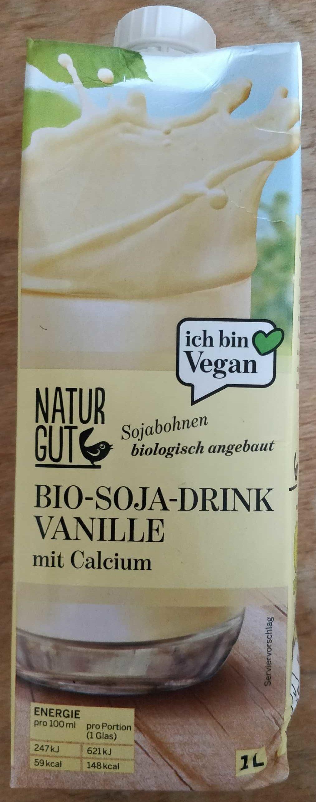 Bio Soja Drink Vanille - Product - de