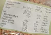 Bio Dinkel Crunchy-Müsli - Voedingswaarden - de