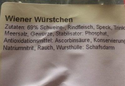 Wiener wurstché - Produit
