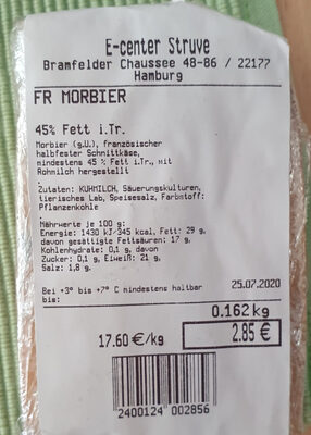 Morbier - Product - de