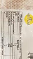 Escalopines de pavo marinado - Informació nutricional