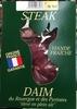 Steak de Daim du Rouergue et des Pyrénées élevé en plein air - Product